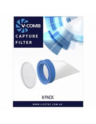 Licetec V-Comb Filtri 8pz Monouso